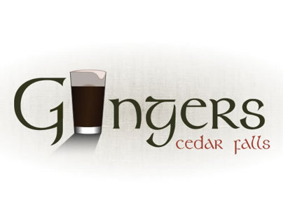 Logo Design | Gingers Irish Pub