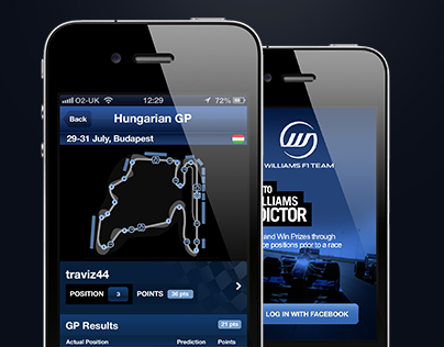 Williams F1 iPredictor