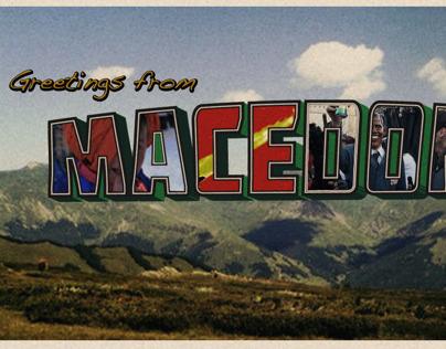 Balkan Postcard Series