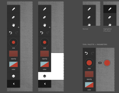 Adobe Touch Tablet Style Guide