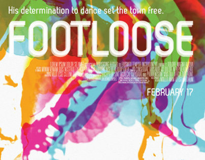 Footloose (1984) Key Art Poster