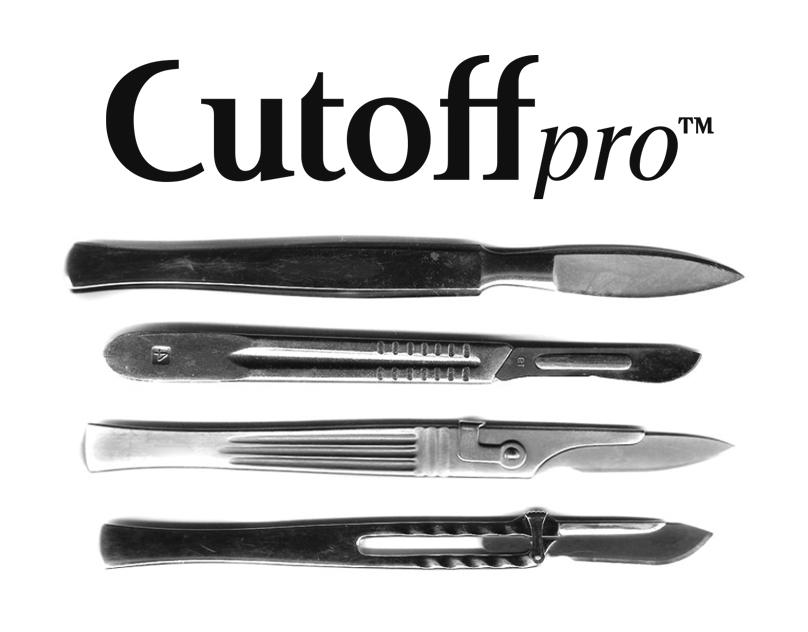Cutoff Pro™ - Typeface Family