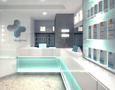 Angelius Pharmacy interior 2011