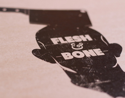 Flesh and Bone online magazine logo