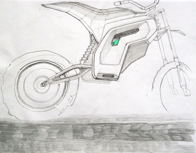 electric dirt motorbike               /design concept