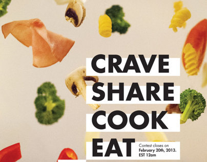 CRAVE, SHARE, COOK, EAT (Thesis)