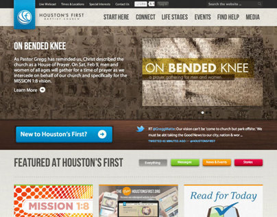 HoustonsFirst.org Redesign