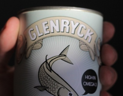 Glenryck Pilchards Rebranding and Campaign