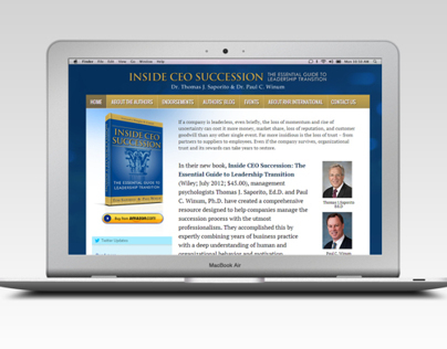 Inside CEO Succession Book Website