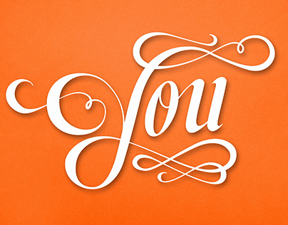 It Was A Pleasure To Write You — Lettering