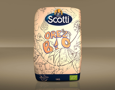 Riso Scotti - Orez BIO - Packaging Design - 2012