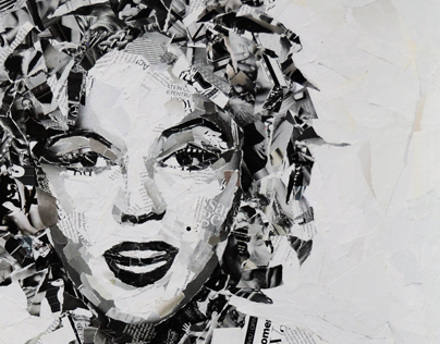 collage | marilyn monroe