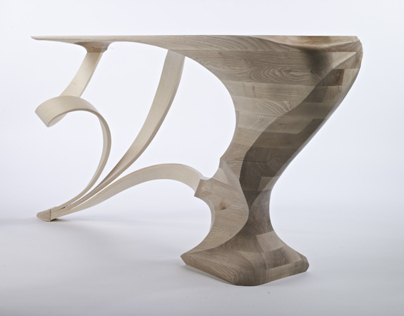 Form or Function console table