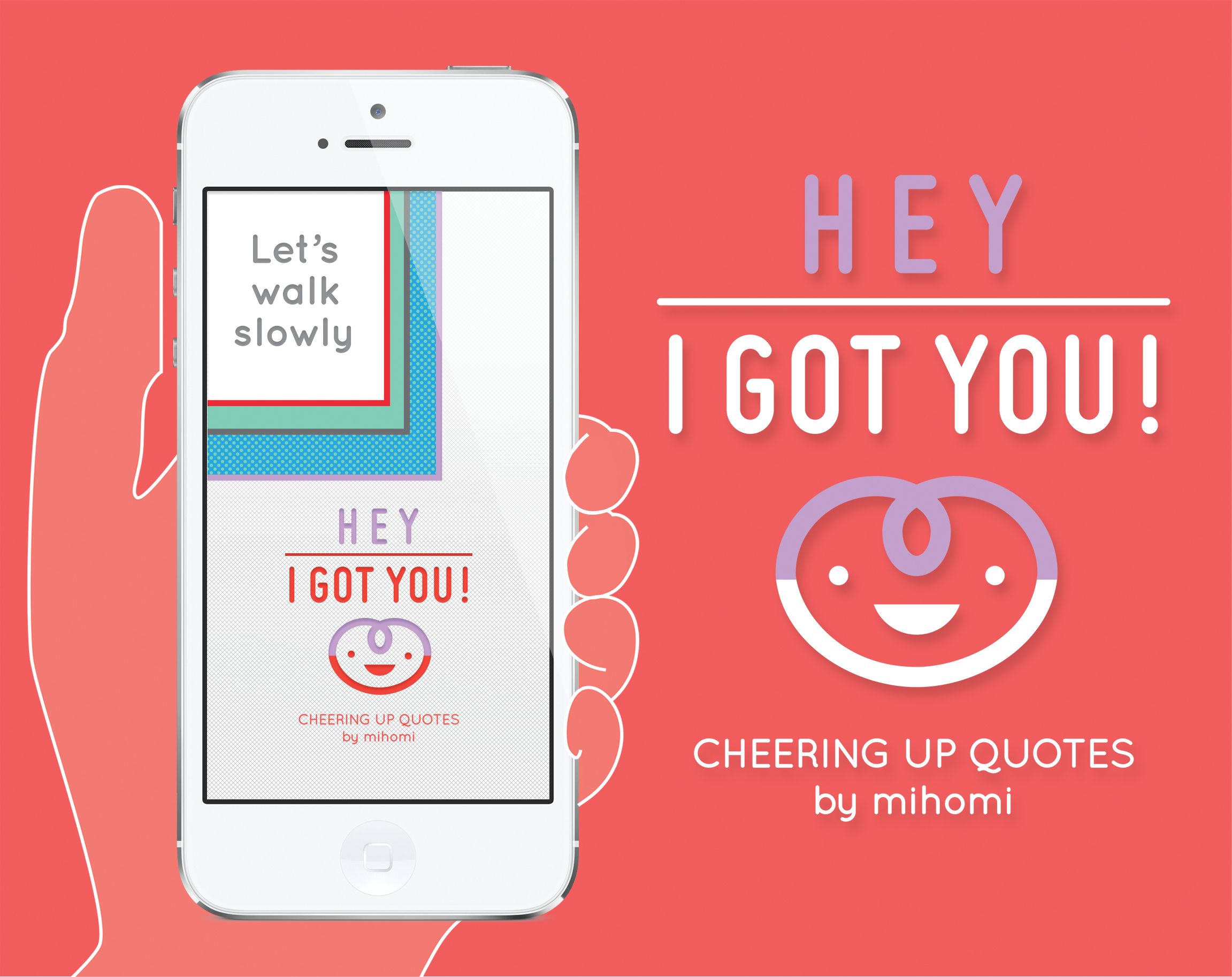 mihomicare: Hey I got you! app and tablet design