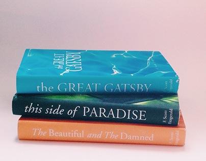 Scott Fitzgerald book covers