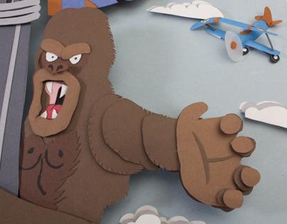 King Kong Illustration