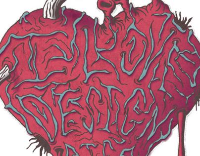 AIGA: I Love Design Poster