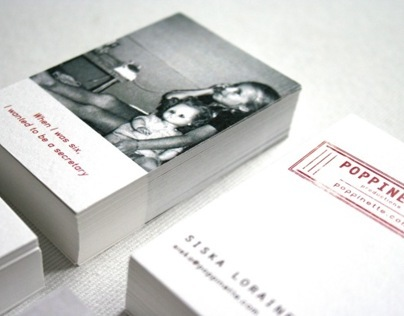 Poppinette Logo & Business Cards