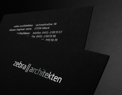 Corporate Design für Architekturbüro