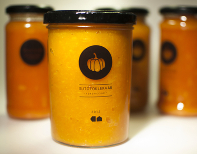 Package design for my home-made marmalade
