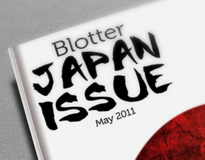 Blotter - Magazine Design Project