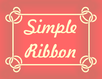 Simple Ribbon