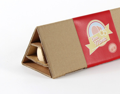 Ovos do Monte - Egg packaging