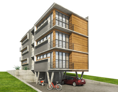 Apartment Building for Students