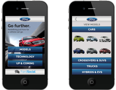 Ford Mobile Website