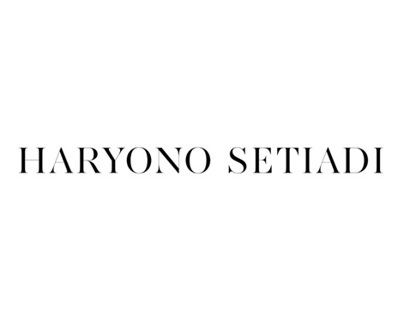 Haryono Setiadi Website (concept)