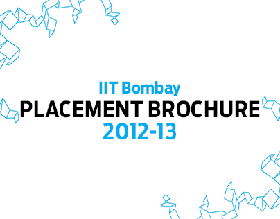 IIT Bombay Placement Brochure 2012-13