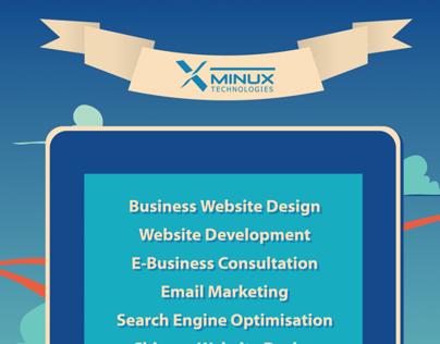 Minux Technology (NZ) Poster