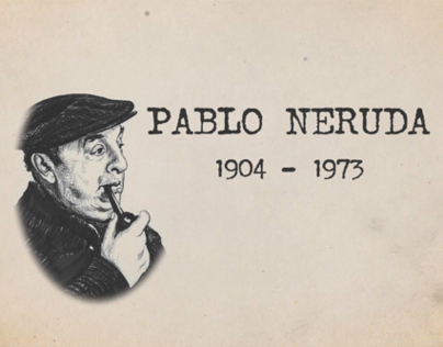 Video Infografia de Pablo Neruda