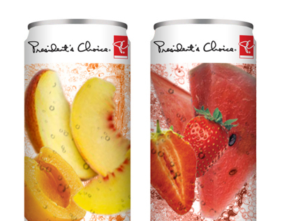 PC Sparkling Fruit Drink Concepts