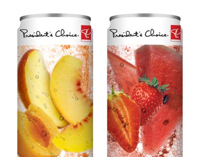 PC Sparkling Fruit Drink Concepts