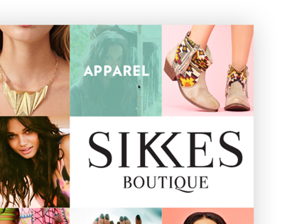 SIKKES Boutique Web Design