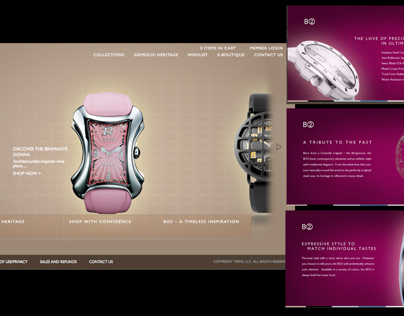 Grimoldi E-commerce Website