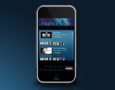 Star World - The Front Row (Mobile App)