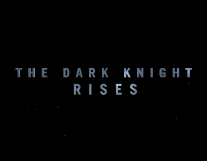 The Dark Knight Rises - WB