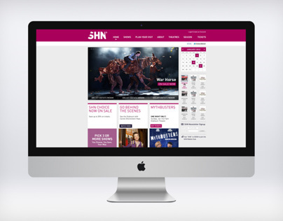 SHN Website redesign