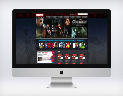 Marvel Reads Website