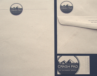 The Crash Pad Branding and Site