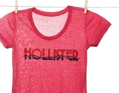 T-shirts for Hollister Co.