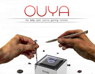 OUYA Magazine Spreads