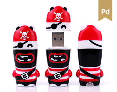 Marvin The Pirate USB Drive
