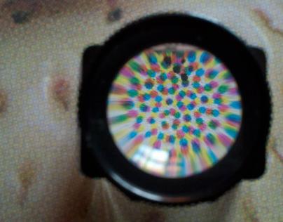 4-color process screen print