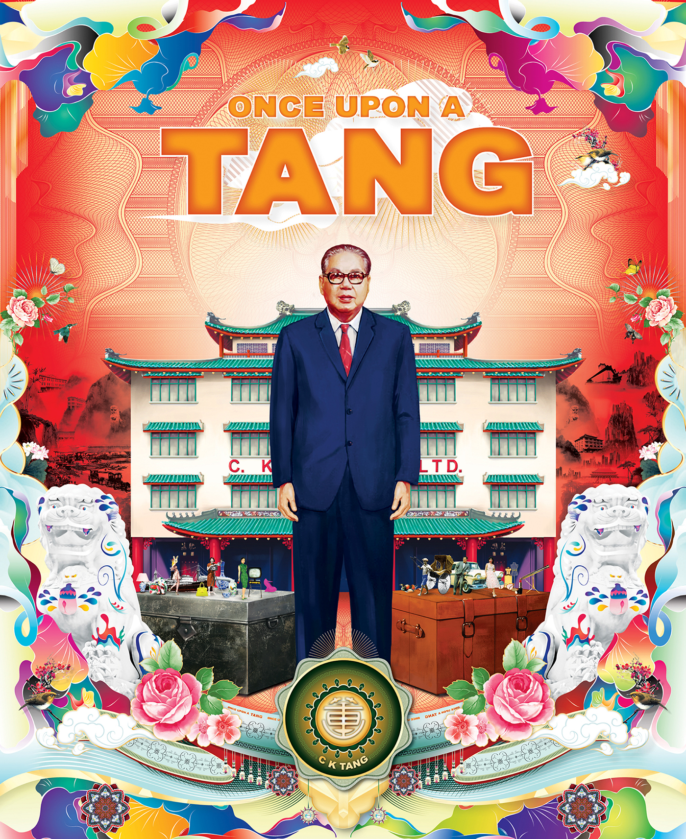 ONCE UPON A TANG Book Design