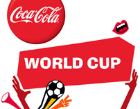 Coca-Cola World cup promo campaign.