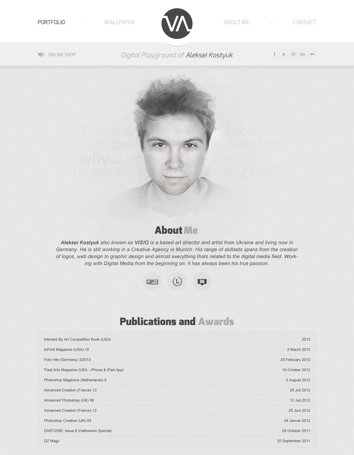 Visio - Portfolio Relaunch