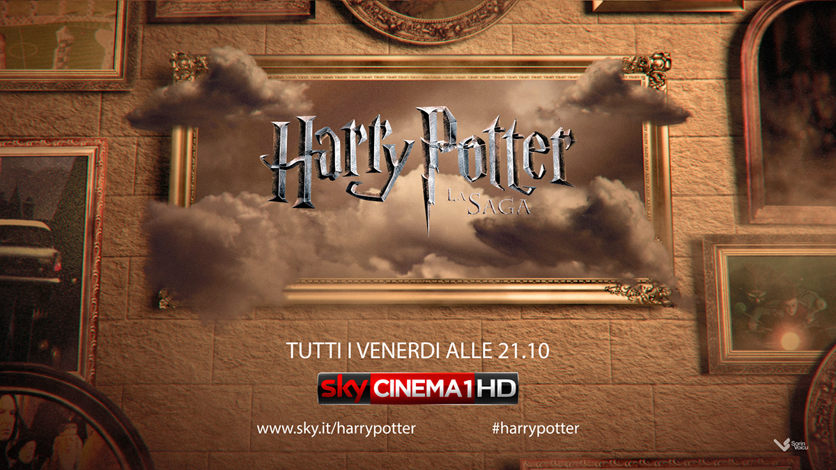 Sky Cinema: Harry Potter - Channel Ident